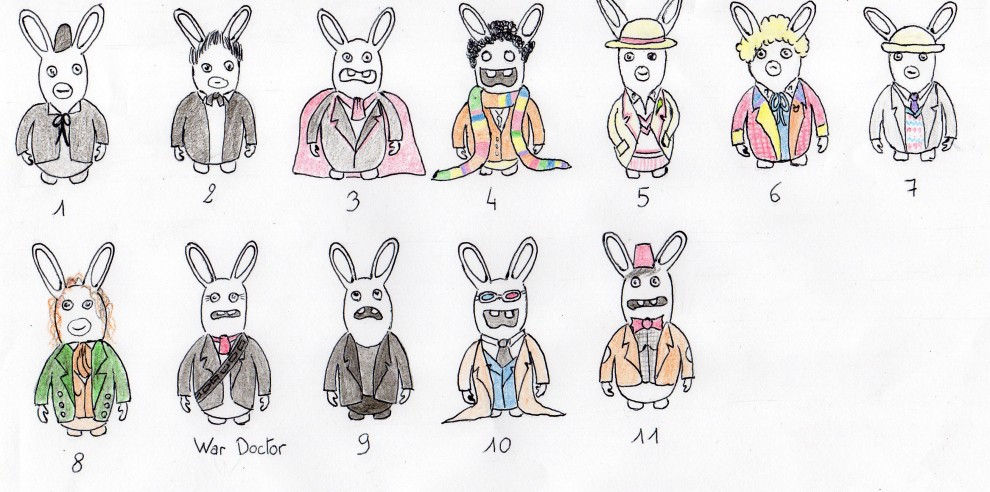 dr who lapin